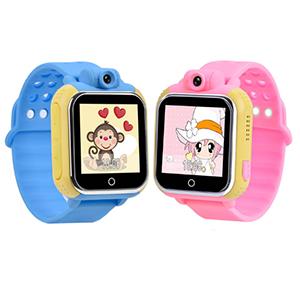 Детские часы с цветным экраном Smart Baby Watch 3G (GW1000, Q75)