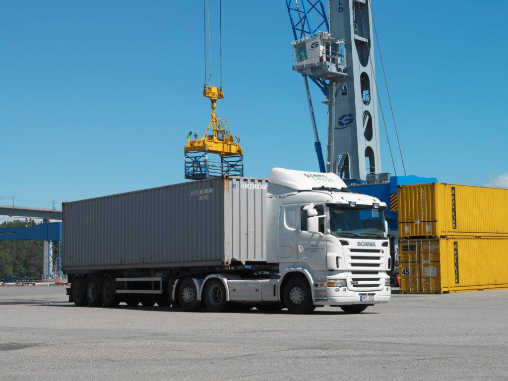 Мониторинг контейнеров и прицепов с Tetis R