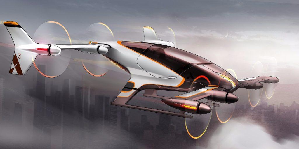 Airbus представил проект воздушного такси — Vahana