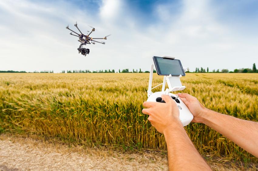 Беспилотники в сельском хозяйстве