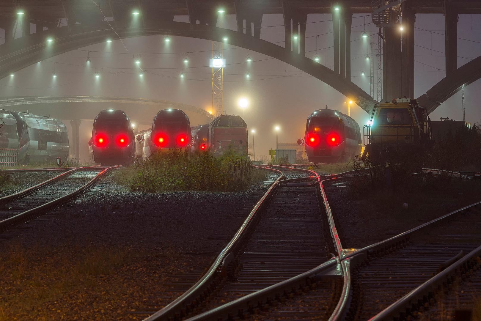 Система мониторинга ЖД транспорта