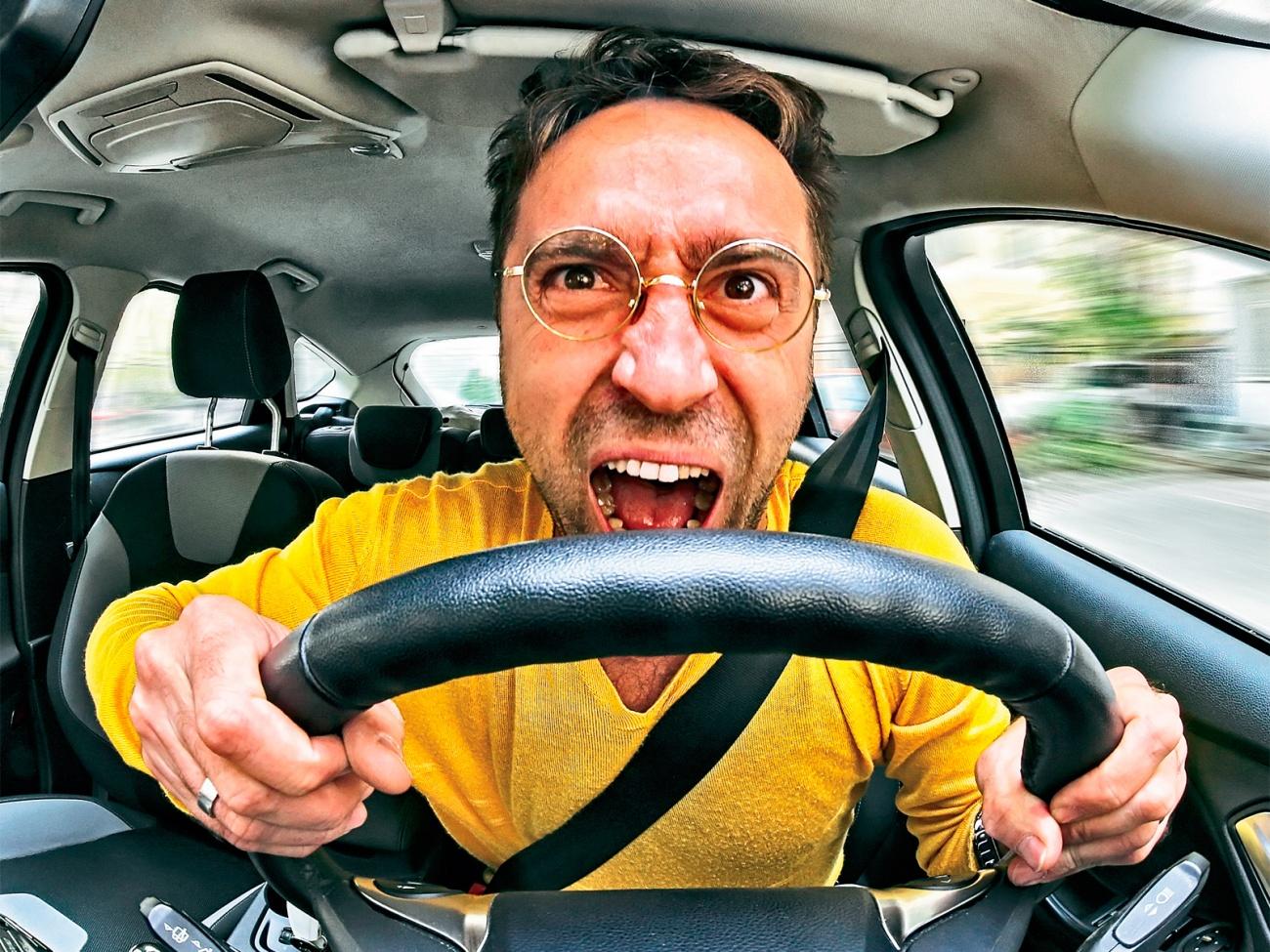 Контроль манеры езды водителя