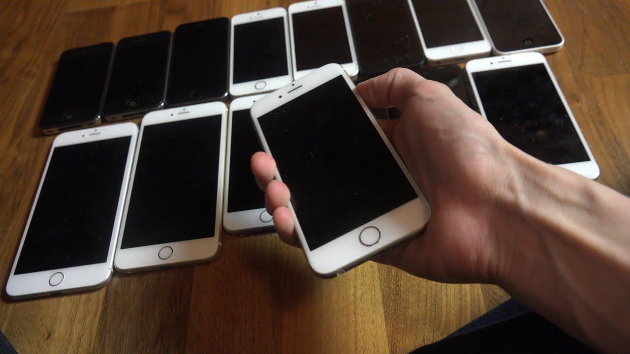 контрабандные айфоны