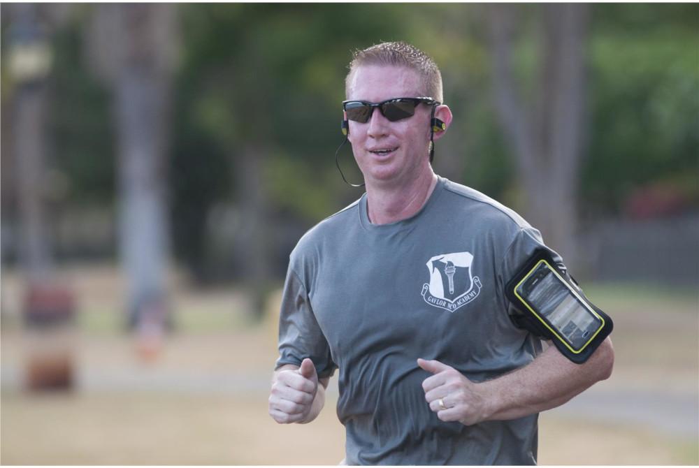 Американские военные с фитнес-трекерами
