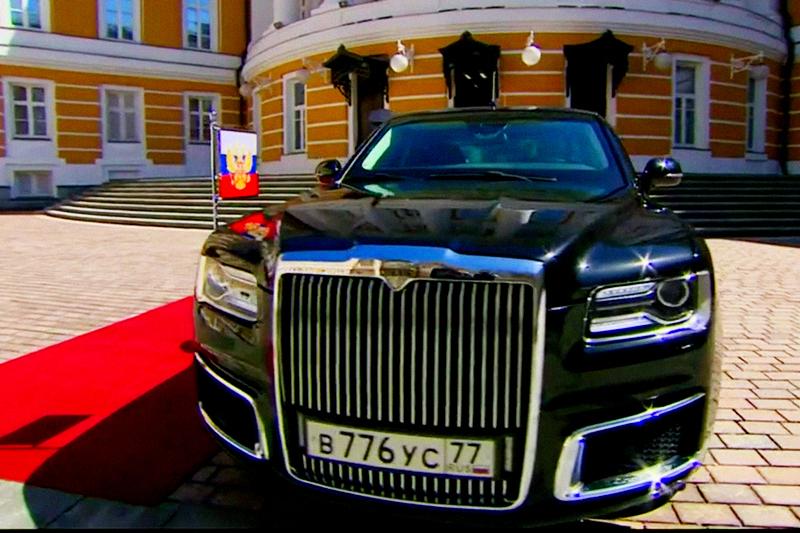 Машины из государственного кортежа РФ