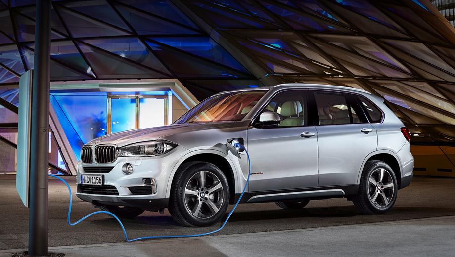 BMW представила гибриды с принудительным отключением ДВС в городах