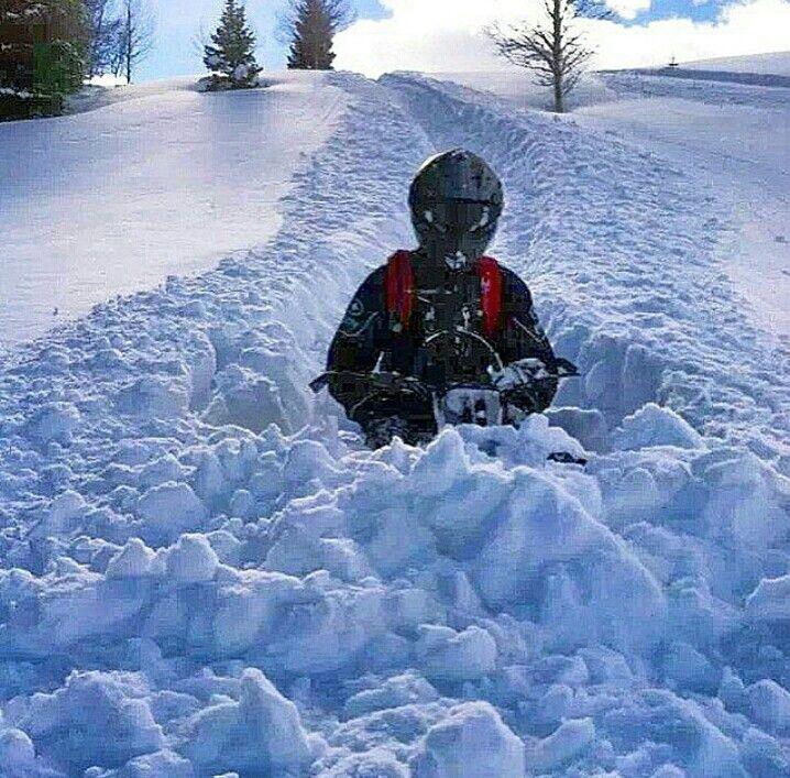 GPS: если застрял снегоход