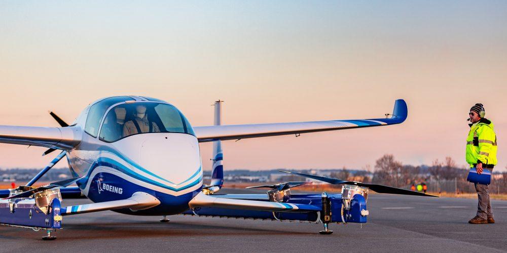 Boeing успешно испытала беспилотное «воздушное такси»