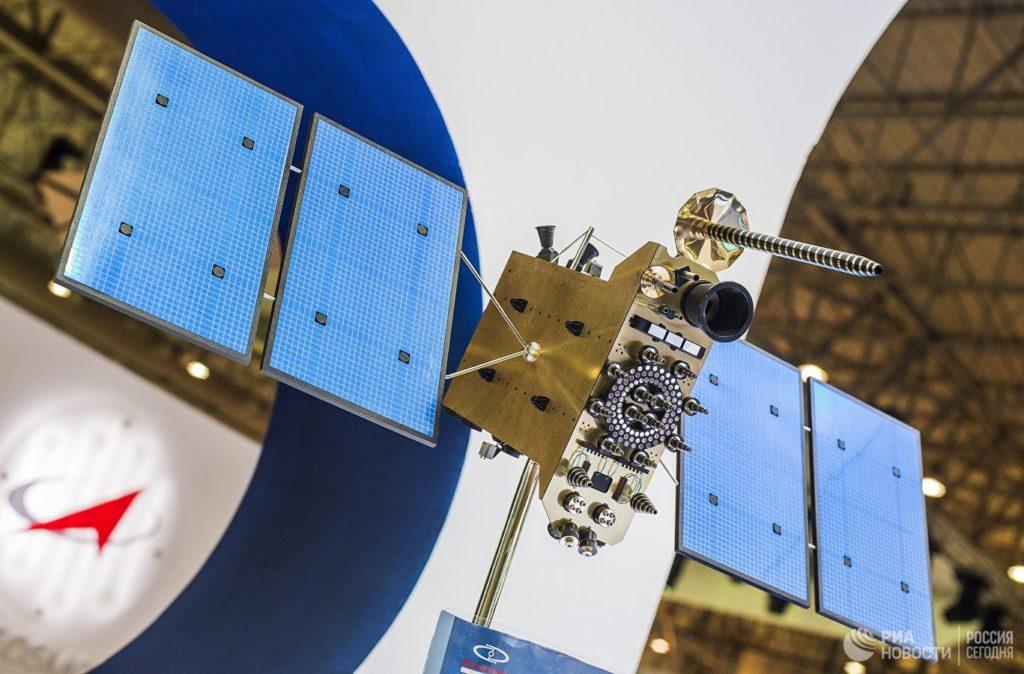 Спутник ГЛОНАСС-К макет